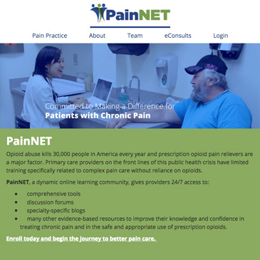 PainNET Member Organization WEBSITE.