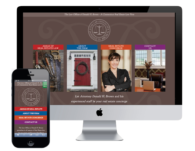 Attorney Website design in New Haven
