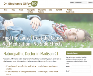 Building a Naturopathic practice one blog post at a time