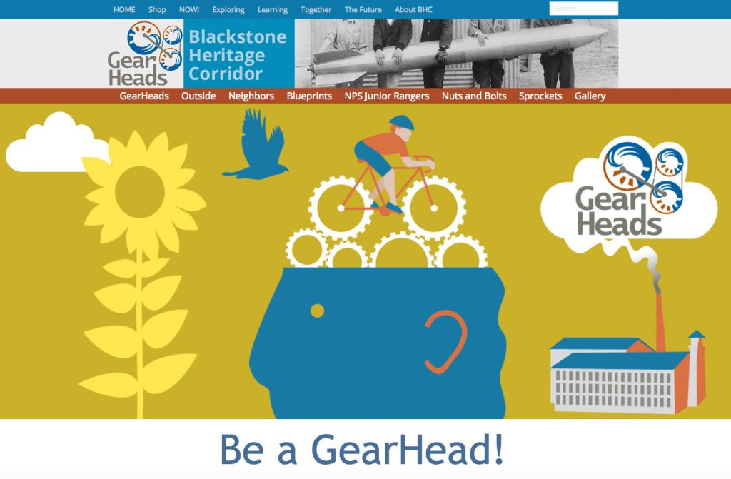 childrens website for national heritage corridor