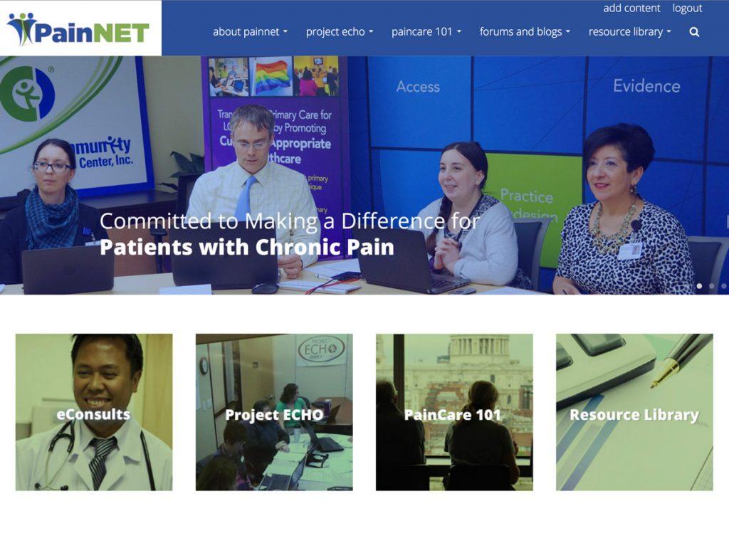 drupal design home page